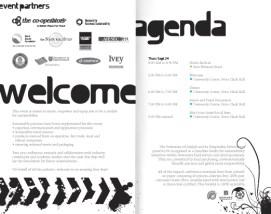 impact! Conference, program (spread)