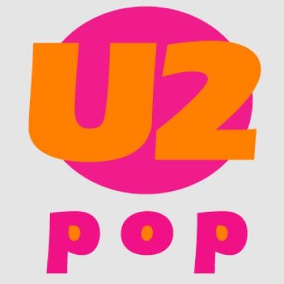 U2 - Pop, logo design (personal work)