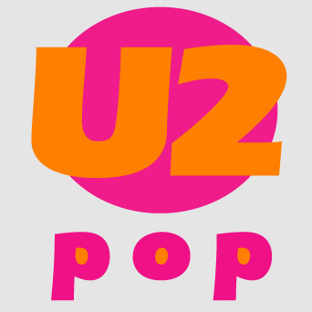 U2 - Pop, logo design (personal work)