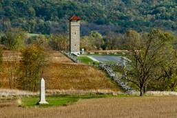 Observation Tower, Autumn, Antietam National Battlefield Park, S