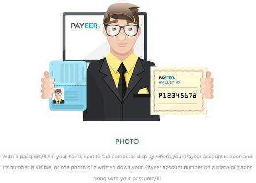 Verificar cuenta de Payeer