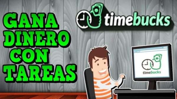 TimeBucks Ganar dinero