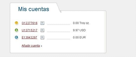 Perfect Money Monederos