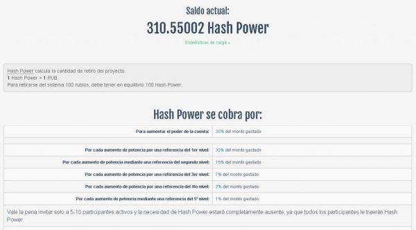 WebLider Hash Power
