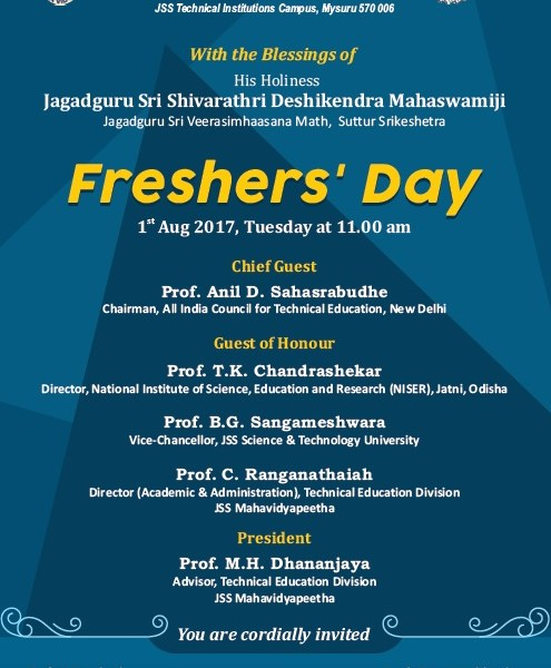 Freshers' Day