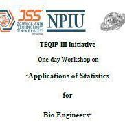 One day Workshop on Applications of Statistics for Bio Engineers