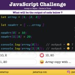 JavaScript Quiz - Does nested array reference removed by spread syntax