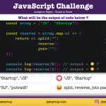 JavaScript-Quiz-Reverse-array-element-but-in-the-same-position-JS-Startup