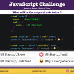 JavaScript Quiz - What actually optional chaining operator do with object