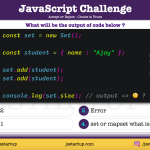 JavaScript Quiz - does set object really store duplicate object - JS Startup