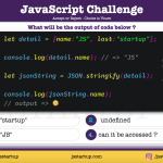 JavaScript Quiz - access JSON string value is possible - JS Startup