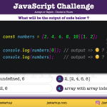 JavaScript Quiz - can array really be access with an array - JS Startup