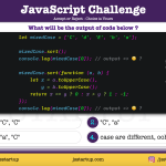 JavaScript Quiz - can mixed case array sort is possible - JS Startup