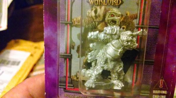 Warlord Miniature; Ado Salint, Merc Hero. Click to Enlarge.