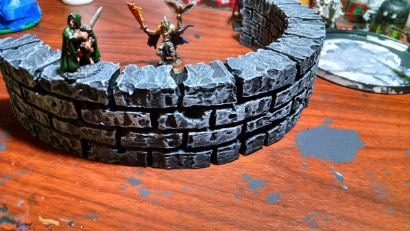 2 inch wall for table top rpg and wargames. Click to Enlarge.