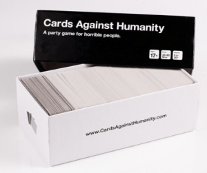Cards Against Humanity card game.