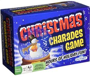 Christmas Charades game.