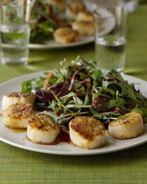 cookbook-scallops-with-beet-sauce-&-salad