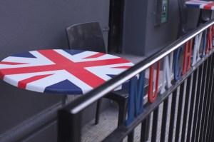 Side Table, Union Jack