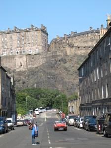 Edinburgh castle / Edinburgh Festival in Scotland