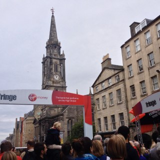 theatre lovers from all over the world/ Edinburgh Festival