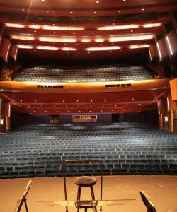 View from stage /theatre