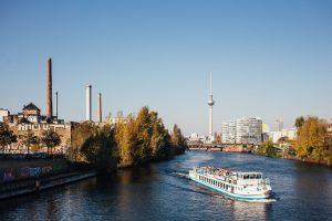 Berlin River boat