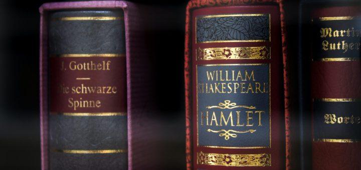 The backbone of Shakespeare's Hamlet