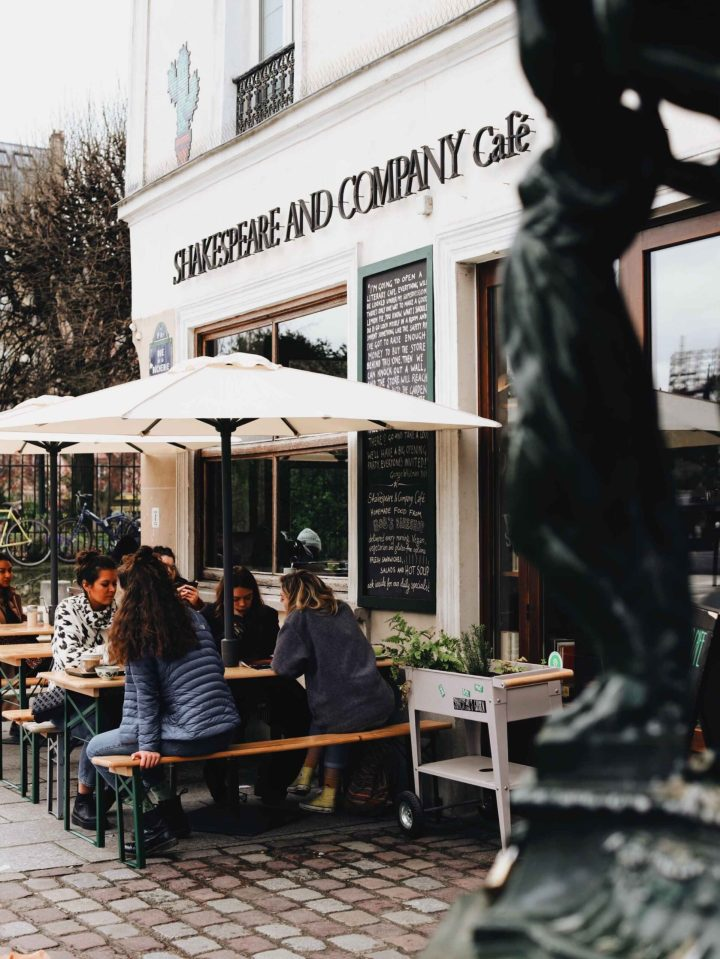 Cafe named Shakespeare and Company