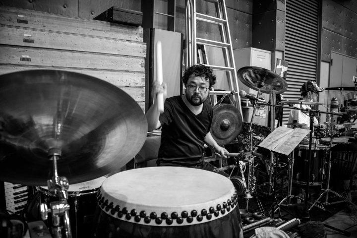 Mahabharata rehearsal photo 5 music Jinya Imai