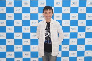 Satoshi Miyagi at SPAC's press conference held on Sept.14 2021