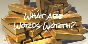 Content Marketing What are words worth header