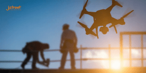 Drones in Construction provide are more effective than humans header