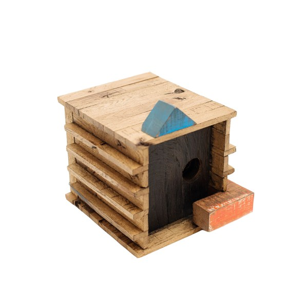 Memorial Birdhouse Blackbird JSTWoodworks
