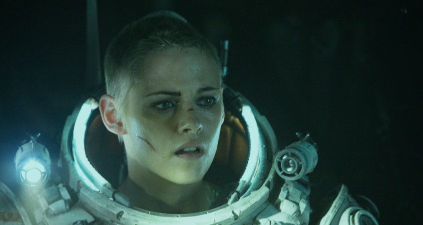 Kristen Stewart, pictured, plays Norah Price in the 2020 science fiction horror film 'Underwater'. (Courtesy of Alan Markfield)