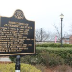 Jacksonville State University, originally known as Jacksonville State Normal School, celebrated its 137th anniversary on Saturday. JSU has had a total of 12 official presidents. (Scott Young/The Chanticleer)