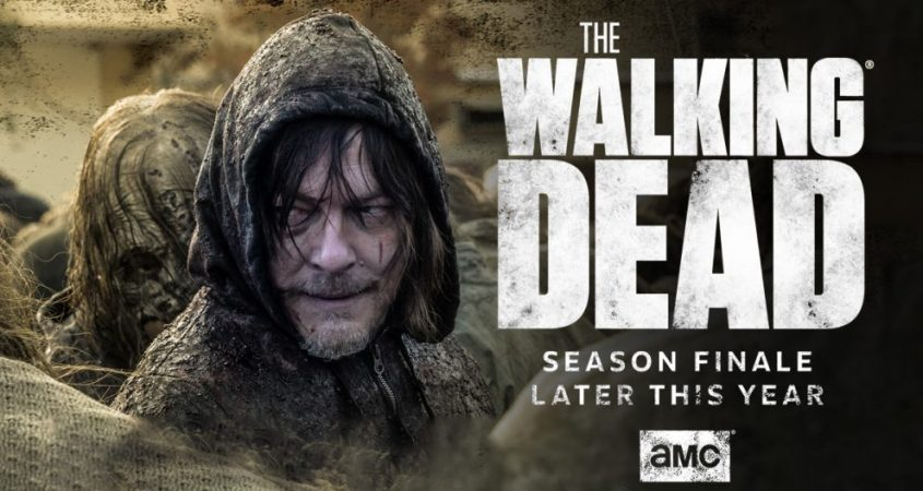 'The Walking Dead' will return for its final season this year. (Courtesy of tecake.in)