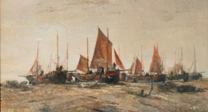 Hastings Luggers – Charles Ernest Cundall