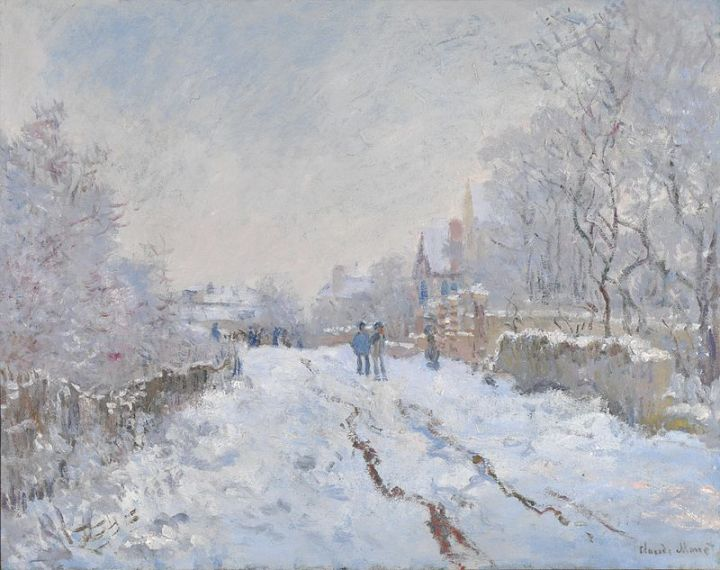 800px-Monet_Snow_at_Argenteuil_1875