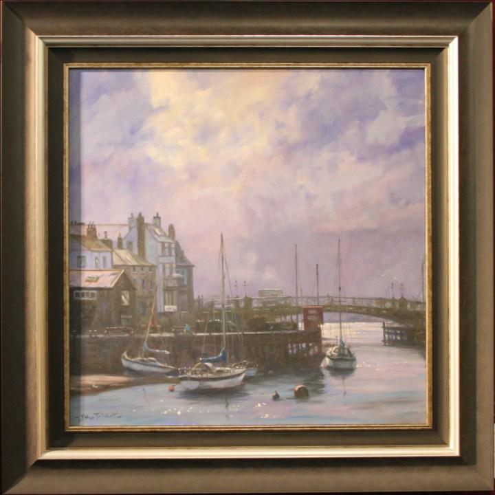 Whitby Harbour - John Trickett