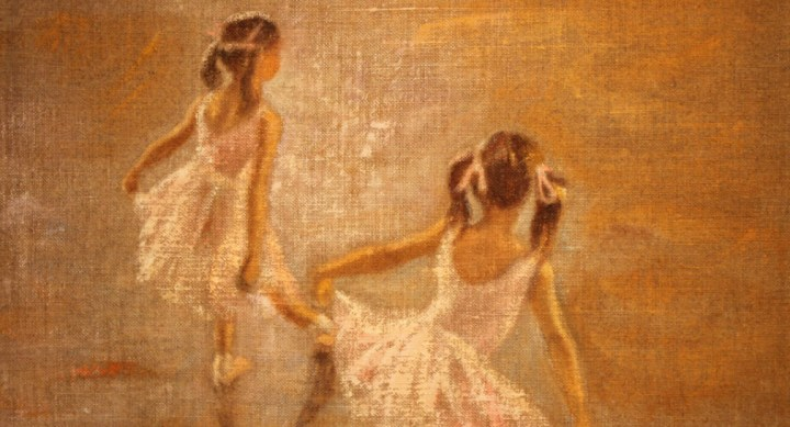SOLD : Ballet Dancers by Rene Jerome Legrand