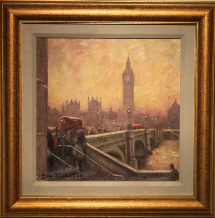 Dusk at Westminster Bridge by John Trickett