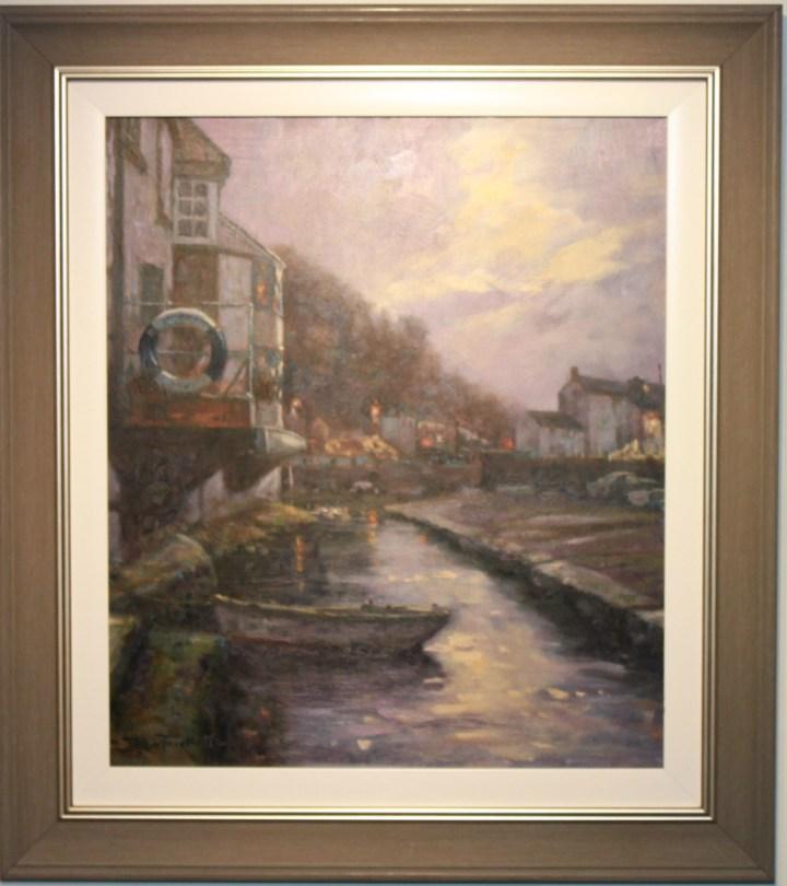 Harbour Lights, Polperro – John Trickett