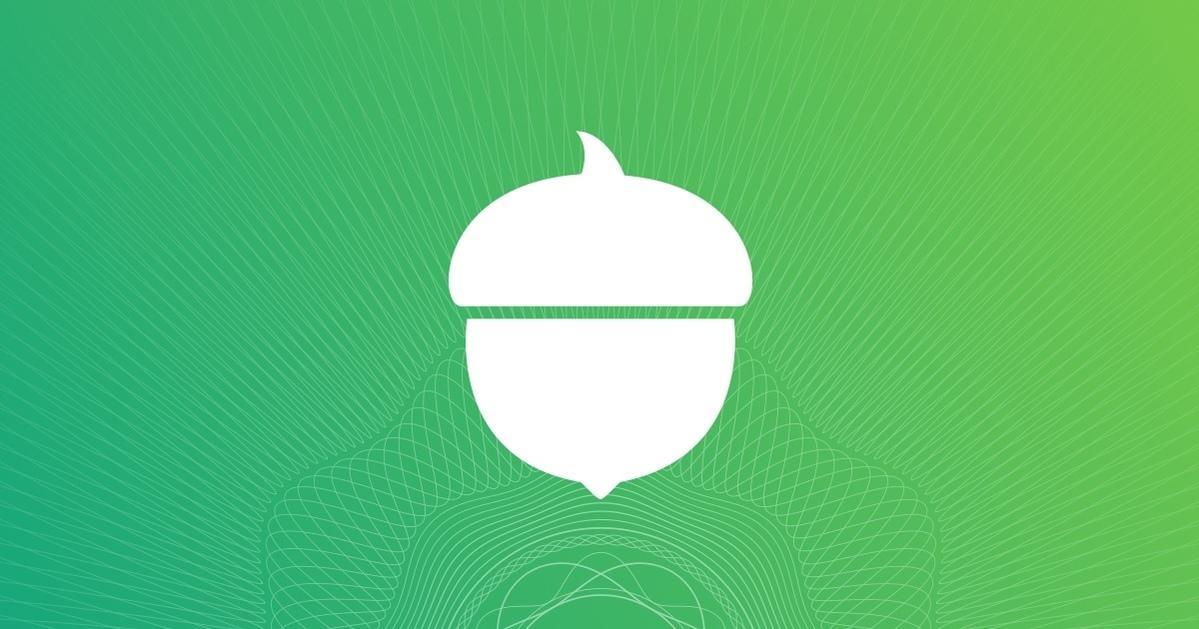 acorns banner