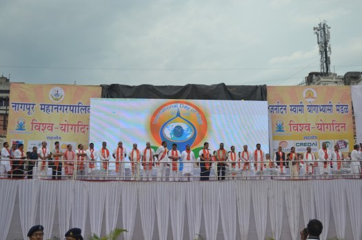 21st June JS Yog International Yoga Day Yashwant Stadium, Nagpur CM Devendra Fadnavis Union Minister Nitin Gadkari_110