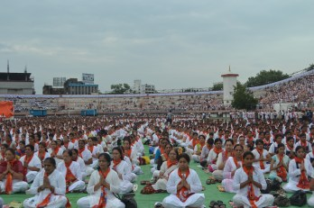 Over 21000 people create history in Nagpur