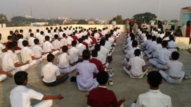 js yog shaleya spardha KTRS english high school