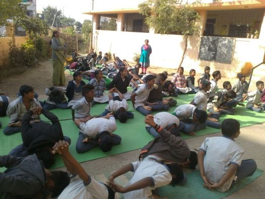 js yog shaleya spardha Corporation school bijli nagar and makardhokda-1