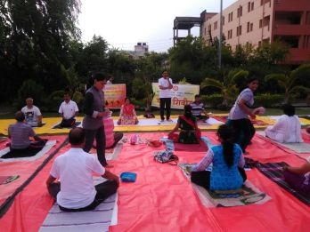 Yog Workshop & FREE International Yog Day Training at Nandanvan Garden & Anandam Apparments Scheme, Model Mills Opposite S.T. Stand, Nagpur
