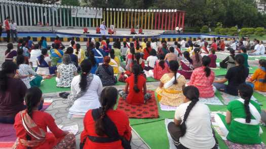 21st June International Yoga Day 2018 Workshop Traffic Park Nagpur